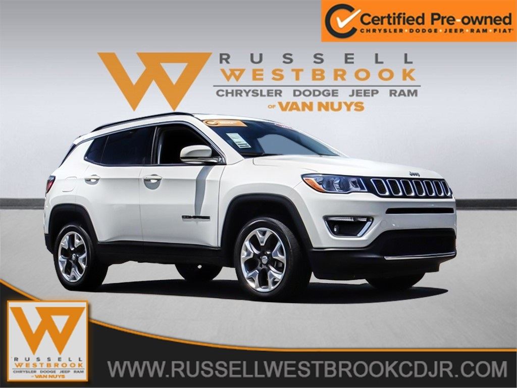 Certified Pre Owned Jeep >> Certified Pre Owned 2019 Jeep Compass Limited 4wd
