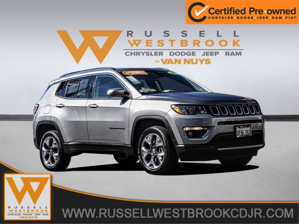 Jeep Certified Pre Owned >> Certified Pre Owned 2019 Jeep Compass Limited 4wd